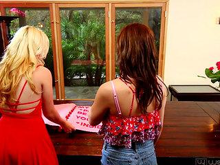 Samantha Rone And Kasey Warner At Webyoung