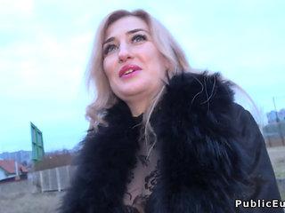 Public Agent Fucks Blonde Milf
