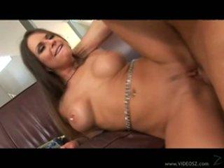 Scorching babe Rachel Roxx takes a massive hard boner d...