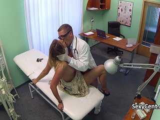 Doctor Shared His Cock With Patient