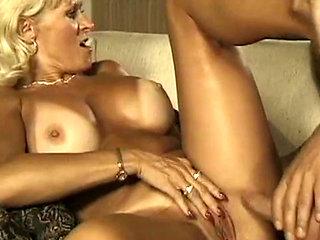 Sexy Older Blonde