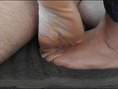 footjob trample