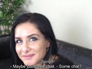 Sexy Milena Casting For Porn