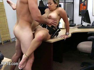 Amateur Teenie Being Penetrated By Pawn Guy