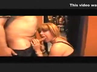 Fabulous Homemade Shemale clip with Blowjob, Big Dick s...