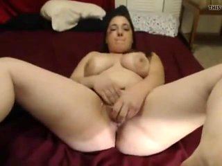 Horny Chubby college girl wet pussy masturbation