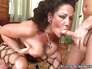 Sexy MILF Playing With Her Boobs