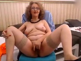 Fabulous Homemade clip with Smoking, Solo scenes