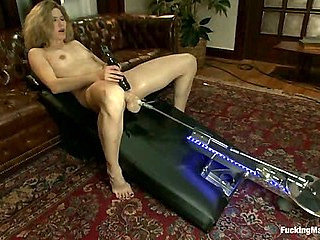 MILF MACHINED <br> Big Dongs, Fast Machines, a Lady who Knows How to Cum
