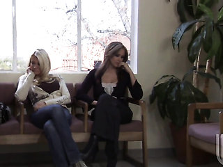 Jessica drake is good on her way to make hard cocked d...