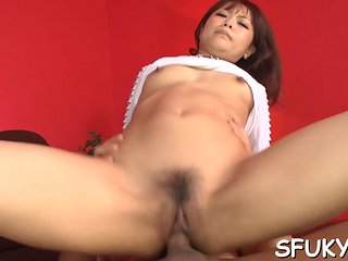 Large Cock Stretch This Asian Pussy Video Clip 1