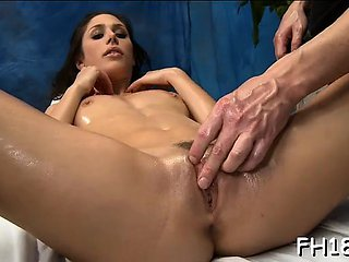 Hot 18 angel gets drilled hard by her rubber