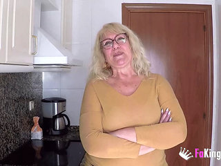 Spanish Granny Knows How To Handle A Young Cock