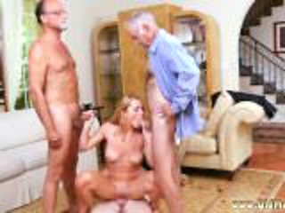 Old women first time Frannkie And The Gang Tag Team A D...