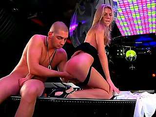 Abby H sucking Timo Hardys lucky dick with wild desire ...