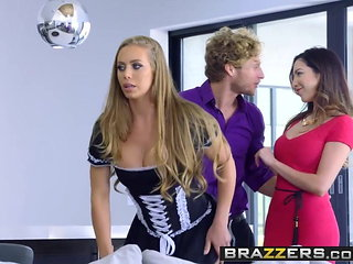 Brazzers - Big Tits at Work - Nicole Aniston and Michae...