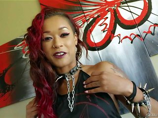 Skin Diamond is s red-haired ebony
