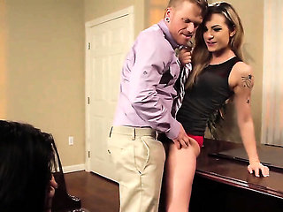 Bailey Blue has some dirty sex fantasies to be fulfille...