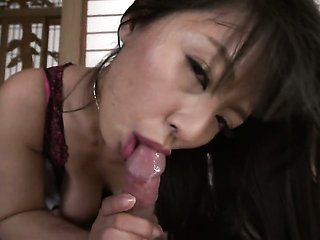 Milf Ryoko Murakami with giant jugs cant live a day wit...