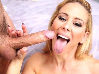 Wow MILF blonde Cherie Deville is hot as fuck