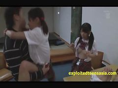 Jav Teen Schoolgirls Suck & Fuck There Teacher Sh...