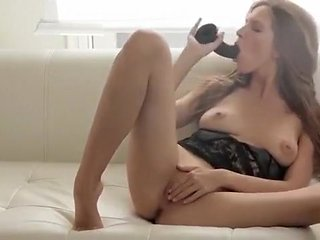 Beautiful female playing with pussy