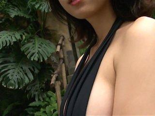 AYUMI - Black One Piece Swimsuit (Non-Nude)
