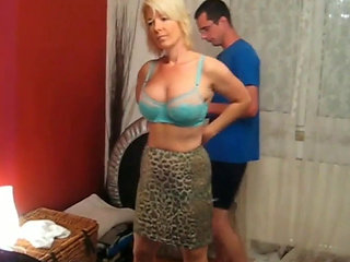 Danish Blond Mature Getting Anal