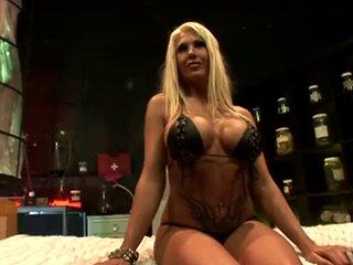 0a Big Tit Blonde Dp