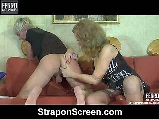 Alina&Elliot vivid strapon action