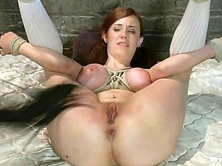 18 Year Old Iona has her First Experience with a Girl o...