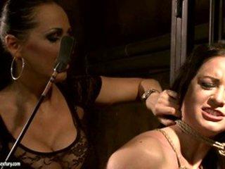 Mandy Bright love spanking a sexy hot babe