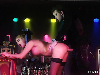 Danny D plays with delicious Cathy Heavens butthole aft...