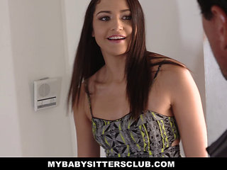 Mybabysittersclub- Cute Teen Babysitter Fucked By Perv