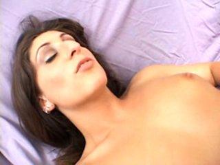 Foxy Luscious Lopez loves a stiff prick tickling her pi...