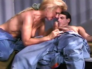 Busty MILF Mia Banged In Prison Cell