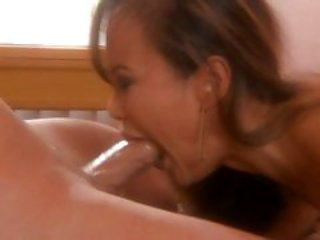 Horny Mia Smiles treats her mouth to this prick
