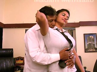 Desi School Girl Romancing With Professor For Promotion...