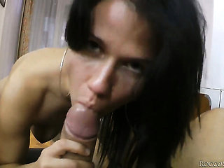 Rocco Siffredi buries his sturdy meat stick in unbeliev...