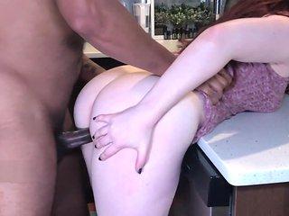 Kitchen Counter Fuck Sesh- JayJadeMoon Amateur Couple