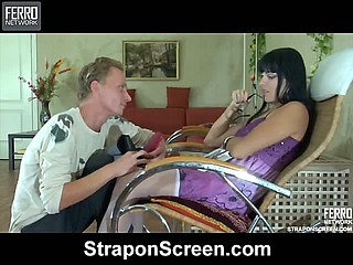 Muriel&Randolph naughty strapon movie