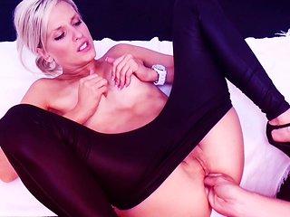 My Dirty Hobby - Katie swallows an XXL dick