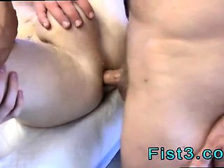 Fisting pissing fucking gay First Time Saline Injection...