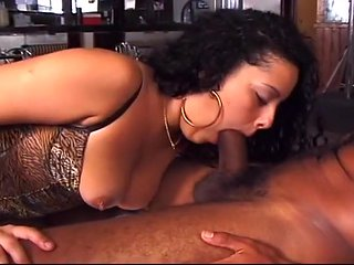 Exotic Doe Eyed Stripper Likes Ass Play