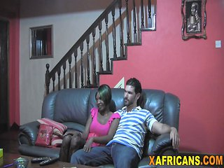 Black Doll From Africa Spreads Legs And Gets Pussy Bang...