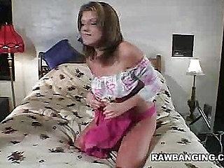 Tyla Wynn Swallowing a Cock