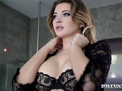 Anna Polina Interracial Anal Sex