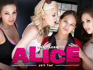 Sara Luvv & Serena Blair & Abigail Mac in The Faces of ...