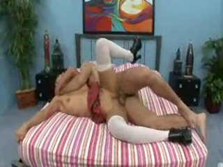 Vicky Chase enjoys a cock exploring her pink pit