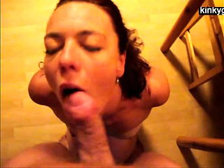 Slave Rhonda gets ass to mouth session